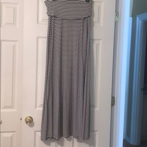 Gap Navy & White Striped Skirt/Dress